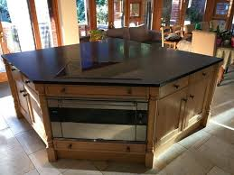 ex display kitchen islands 12 best used bespoke solid oak kitchen with central island images
