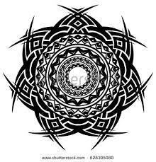 circle tribal tattoo stock images royalty free images u0026 vectors