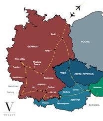 Black Forest Germany Map Best Of Germany U0026 Austria Tour Volant Travel