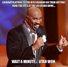 Utah Memes - congratulations to the byu cougars on their victory over the utes