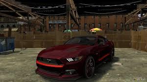 Black Mustang Red Stripes Mustang Gt 2015 Custom Kit Red Stripes For Gta 4