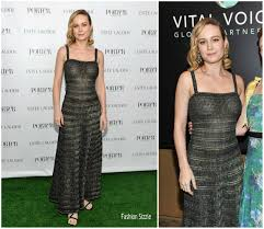Fashion Sizzlers Archives Fashionsizzle by Brie Larson In Chanel At Porter Incredible Women Gala Fashionsizzle