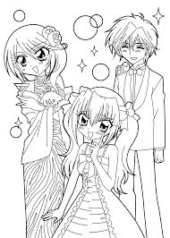free printable anime coloring pages coloring home