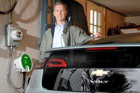 Connecticut travel charger images Ui installs electric car charger in easton man 39 s home jpg
