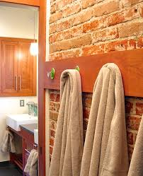 unique towel hooks with conservative wooden towel hooks ideas for