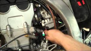 how to 4 stroke mx fuel adjustment yzf crf kxf rmz fcr part