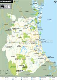 coast map gold coast map gold coast city map australia