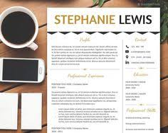 Resume Templates For Word Resume Template Word Cover Letter By Businessbranding