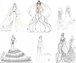 design a wedding dress choosing a wedding gown wedding gown sketch designer bridal