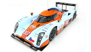 gulf racing 2009 gulf racing aston martin lmp1 le mans by amalgam collection
