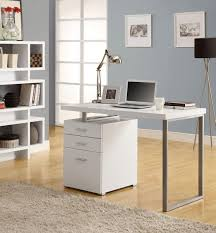 Modern White Office Table Home Design 85 Extraordinary Small Bedroom Office Ideass