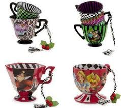 in tea cup ornament mad hatter mad tea