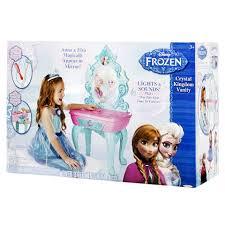 Little Girls Vanity Playset Disney Frozen Vanity Walmart Com