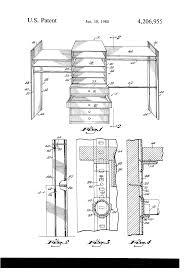 patent us4206955 closet storage unit google patents