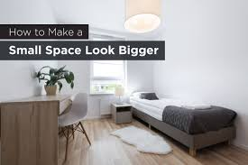 Small Rooms Big Bed How To Make A Room Look Bigger Diy Tips And Tricks Pinterest Will