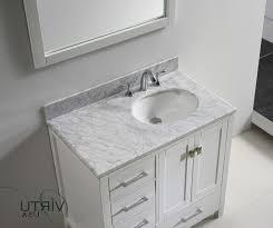 elegant deep bathroom vanity bathroom vanity 18 depth homemadehomes