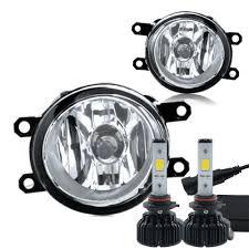 yaris lexus lights 60w led kit lexus scion toyota oe style clear fog lights set