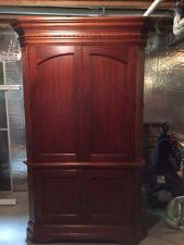 Hooker Tv Armoire Living Room Cherry Entertainment Tv Armoires Stands Ebay