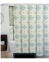 amazing deal on cynthia rowley fabric shower curtain turquoise