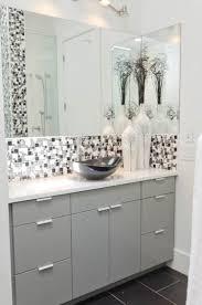 white bathroom vanity ideas black and white bathroom tiles home interior design ideas