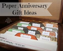 paper anniversary gifts for him 1st wedding anniversary gift ideas beautiful e year anniversary
