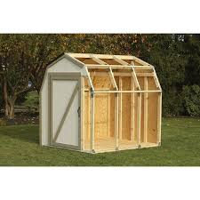 Lowes Outdoor Sheds by Shop Blitz 2 X 4 Basics Shed Kit Barn Roof At Lowes Com