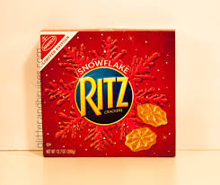 rolo ritz christmas cookies salty caramel chocolate goodness omg