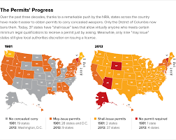 Ccw Map Concealed Carry Politico Magazine