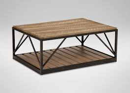 ethan allen coffee table and end tables beam metal base coffee table coffee tables ethan allen