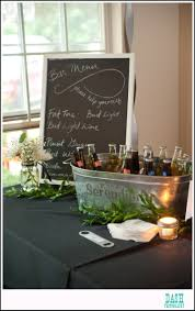 diy martini bar creating a diy self serve bar at your wedding or special event