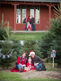 holiday mini sessions at allen hill tree farm hillary strater