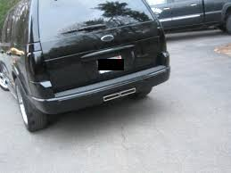Srt8 Cherokee Style Exhaust Ford Explorer And Ford Ranger