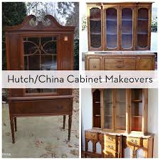 roundup 10 hutch china cabinet makeovers curbly