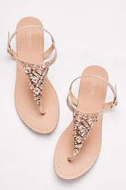 wedding shoes davids bridal womens sandals gladiator wedge straps david s bridal