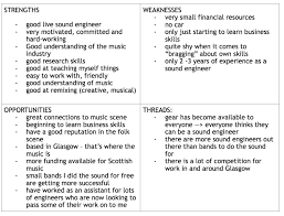 graded unit swot analysis soundproductioncarla