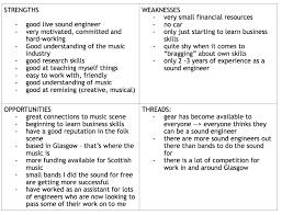 graded unit swot analysis soundproductioncarla