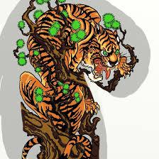 japanese tiger by vinzsacha on deviantart