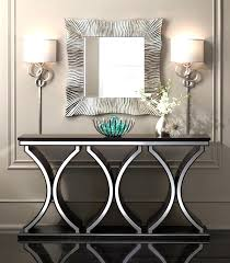 Hallway Console Table And Mirror Hallway Console Table Tinyq Me