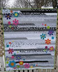 Ideas Design For Colorful Quilts Concept Quick Jelly Roll Quilt With Daisy Future Inspiration Baby Quilt