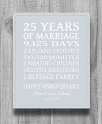 25th anniversary gifts for parents silver wedding anniversary gifts the choice online 2018