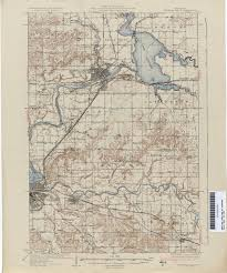 Wisconsin State Map by