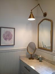 Classic Bathroom Styles by Circa Lighting Sconces Visual Comfort Sconces White Wall Flower