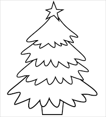 Large Printable Christmas Tree Template