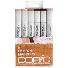 copic sketch marker set skintones 1
