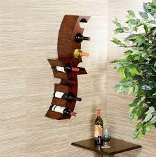 wall mounted wine racks and glass holder design ideas to create a