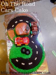 on the road cars cake cakecentral com