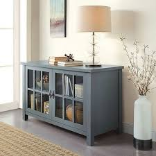 Buffet Sideboard Table by Buffet Console Sideboard Table Tv Stand Media Audio Center Glass