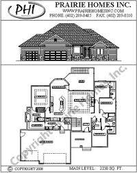Split Floor Plan by Prairie Homes Inc Floorplans
