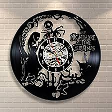 Nightmare Before Christmas Birthday Party Decorations - amazon com vinyl record clock nightmare before christmas wall