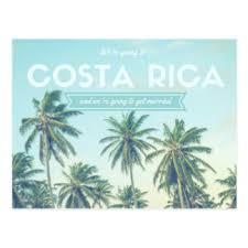 Wedding Postcards Custom Costa Rica Wedding Postcards Zazzle Co Uk
